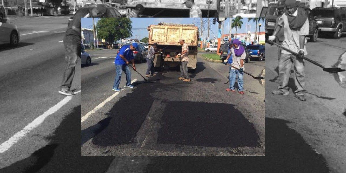 Municipio de Loíza repara áreas de la PR-3
