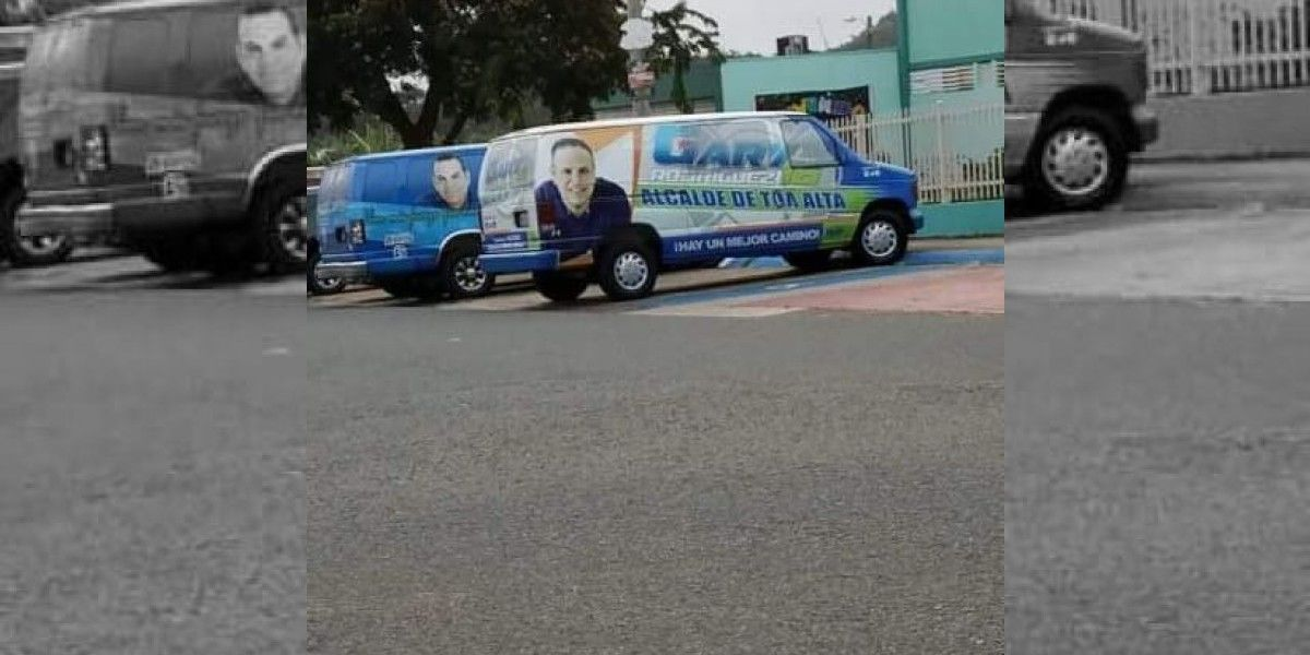 Captan vehículos de campañas políticas violando la ley