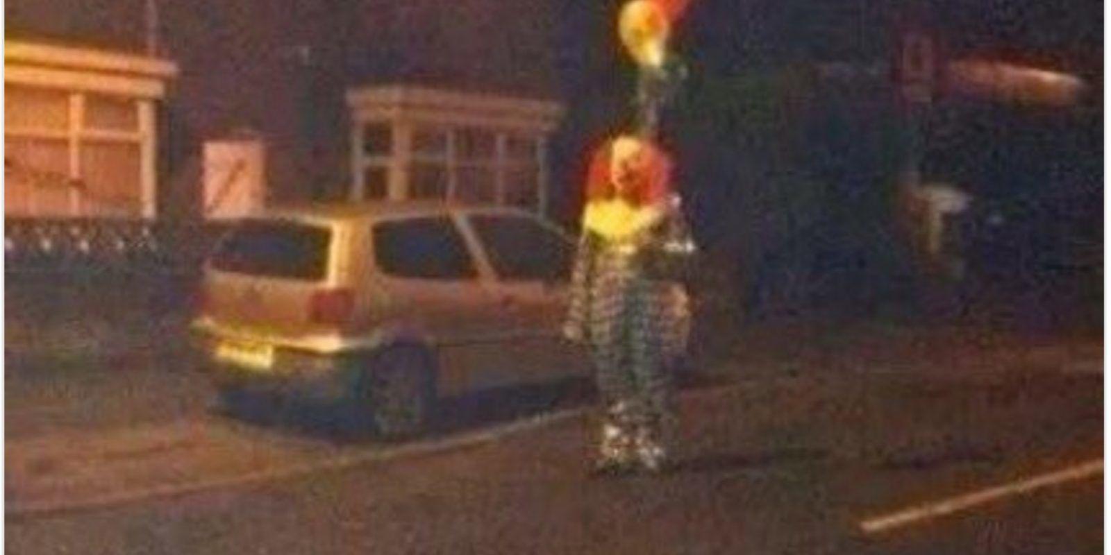 Twitter.com/ClownSighting Foto:En las últimas semanas se incrementaron los casos de Payasos asesinos. Imagen Por: