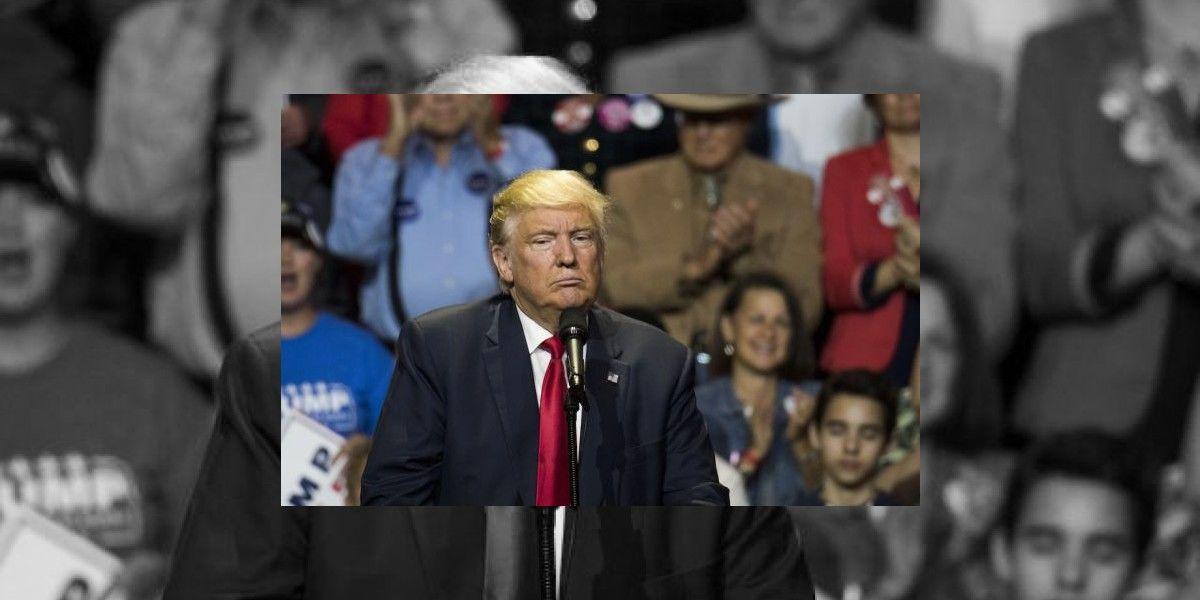 Con tono desafiante, Trump menosprecia a sus acusadoras