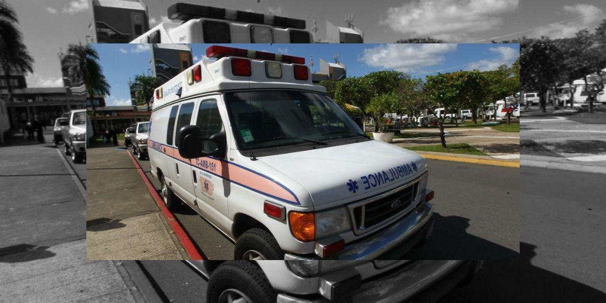 Herido de bala en Trujillo Alto