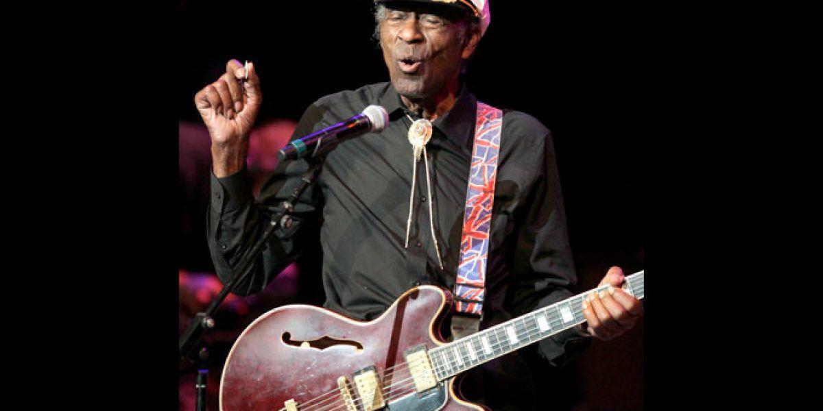 Chuck Berry lanza primer álbum en más de 35 años