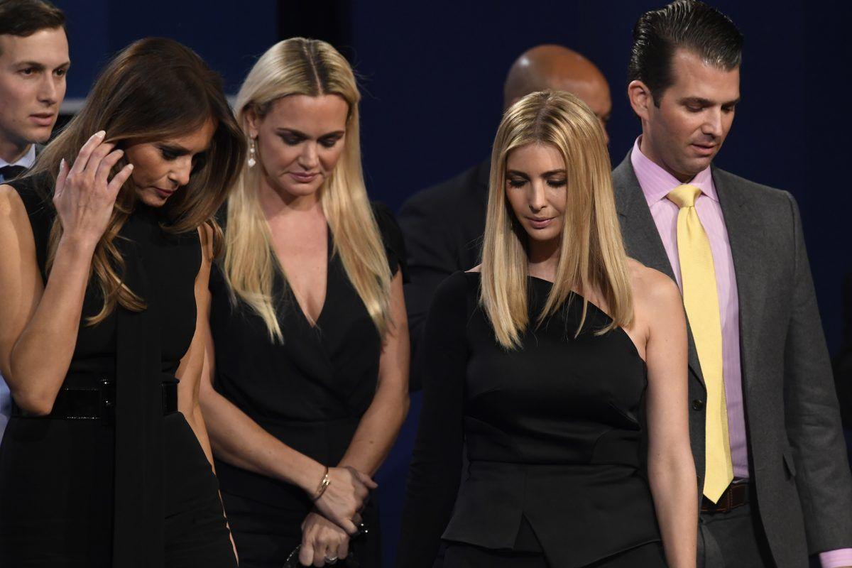"""""""Qué mujer tan desagradable"""": La frase de Trump de la que todos hablan. Imagen Por: AFP"""