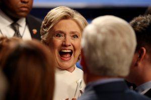 5 frases épicas de Hillary Clinton en el tercer debate presidencial. Imagen Por: AFP