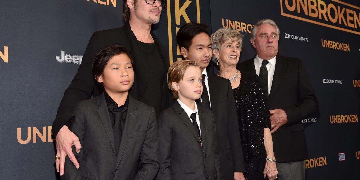 Después de incidente en avión, Pitt pudo ver a su hijo