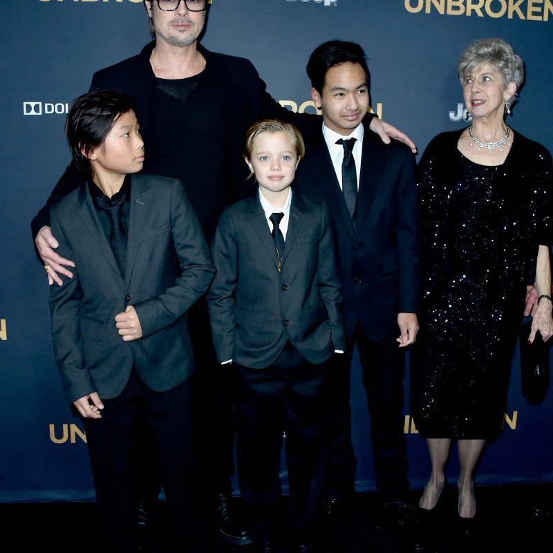 Después del incidente en el avión Brad Pitt por fin vio a su hijo Madoxx. Imagen Por: Getty Image