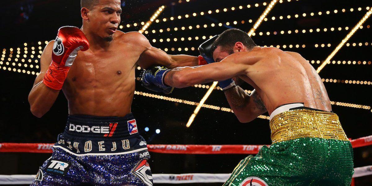Verdejo promete estar listo para pelear en enero