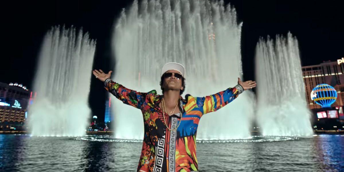 Bruno Mars vuelve a prender la fiesta con
