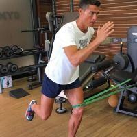 Las mejores imágenes de Cristiano Ronaldo cuidando su cuerpo. Imagen Por: Instagram
