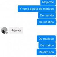 WhatsApp: Conversaciones en las que el autocorrector causó problemas. Imagen Por: Facebook
