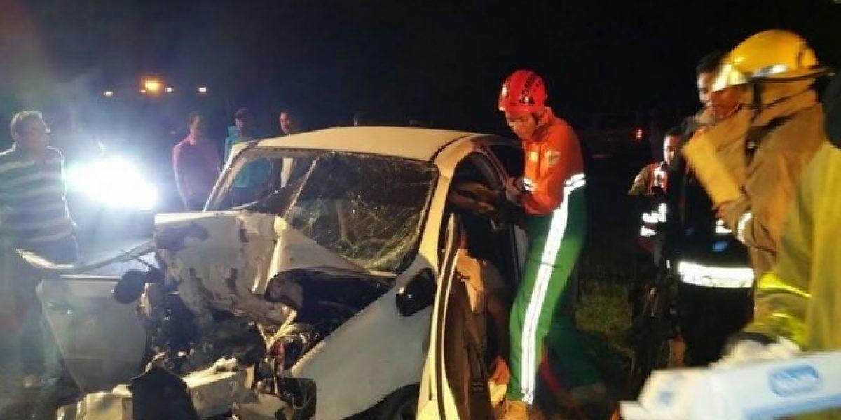 Identifican víctimas de accidente ocurrido en autopista del Coral