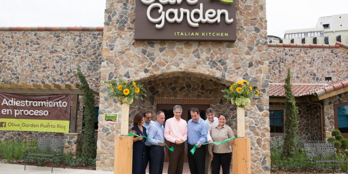 Abre otro Olive Garden en Puerto Rico