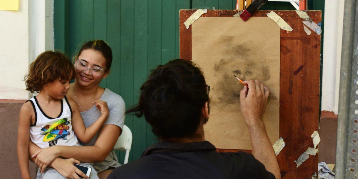 Fotos: el arte y la gente en el último día de La Campechada