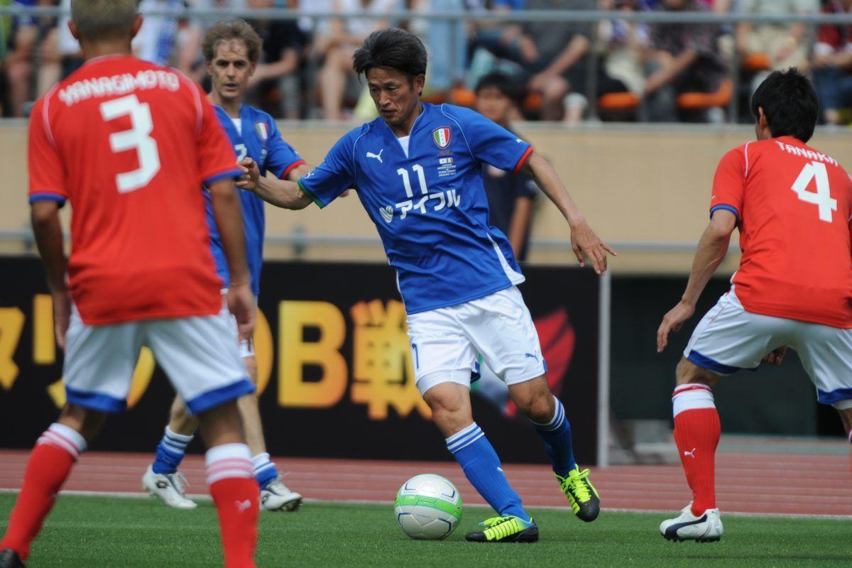 J.League Legend v Glorie Azzurre. Imagen Por:
