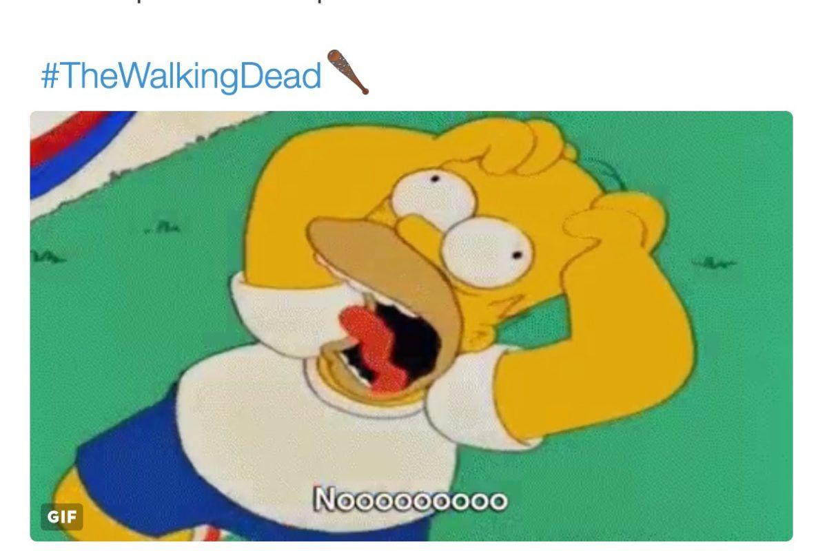 The Walking Dead: Los mejores memes por el estreno de la temporada 7. Imagen Por: Twitter