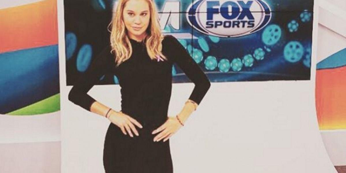 Conductora de Fox Sports cerca de fichar con WWE