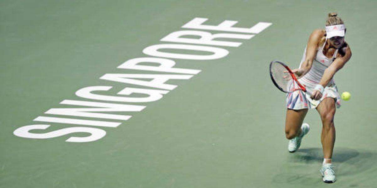 Kerber sigue invicta en la Copa WTA