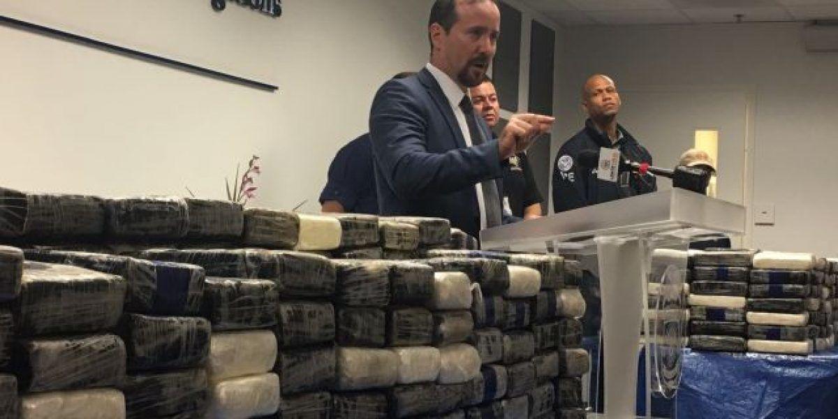 Federales capturan millonario cargamento de cocaíana