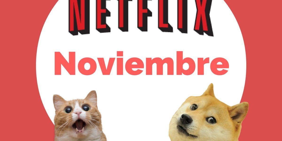 Netflix: Lo que llega y se va del catálogo en noviembre