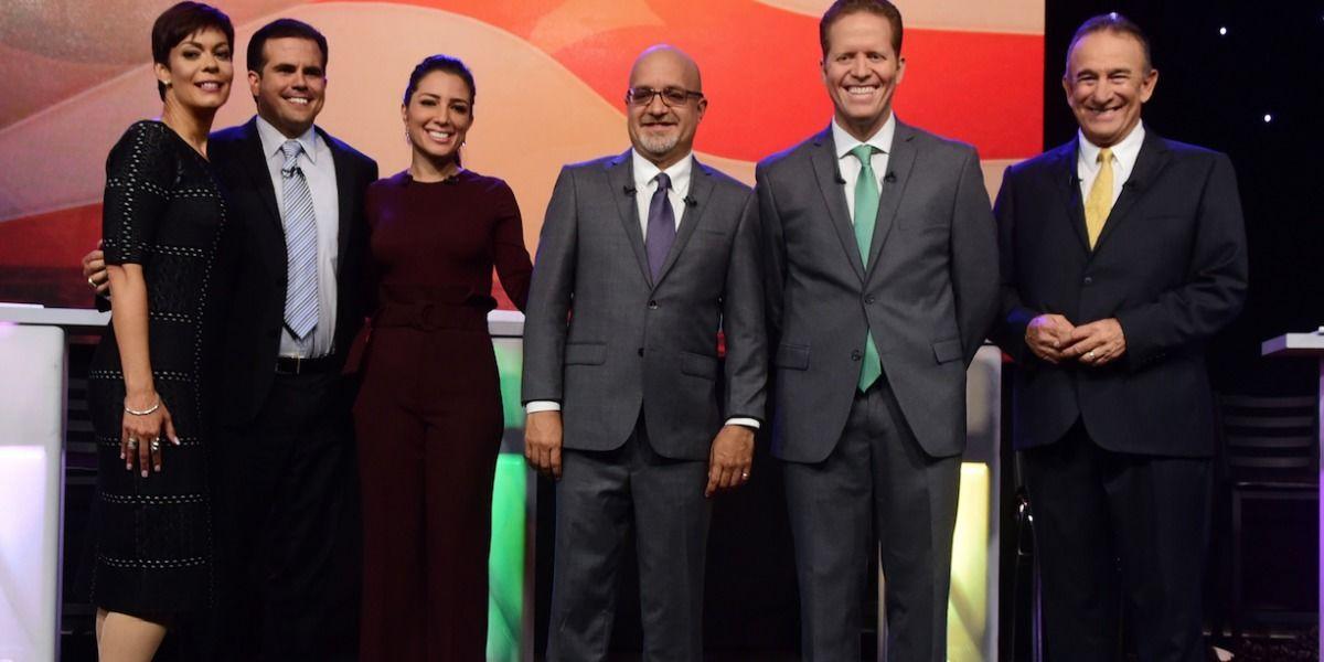 Parodia sobre los colores políticos de la isla
