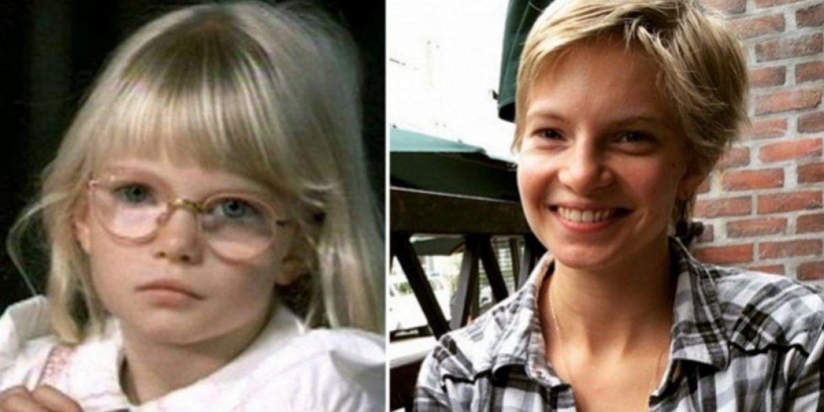Así está 20 años después la niña rubia de Matilda