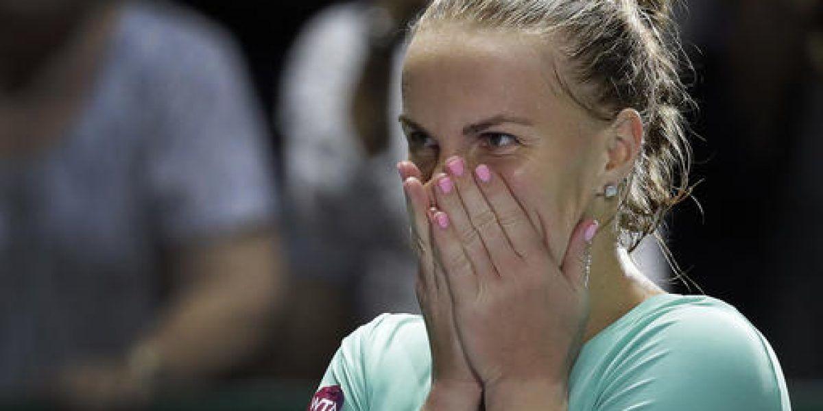 Kuznetsova se acerca a semifinales de Copa WTA