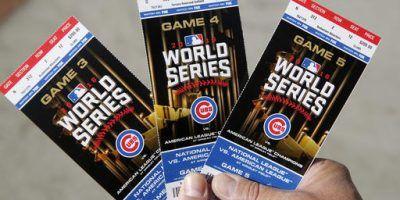 World Series Cubs Indians baseball. Imagen Por: