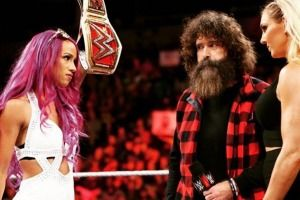 WWE vs. UFC: Peleadora reta a Sasha Banks o Charlotte. Imagen Por: WWE