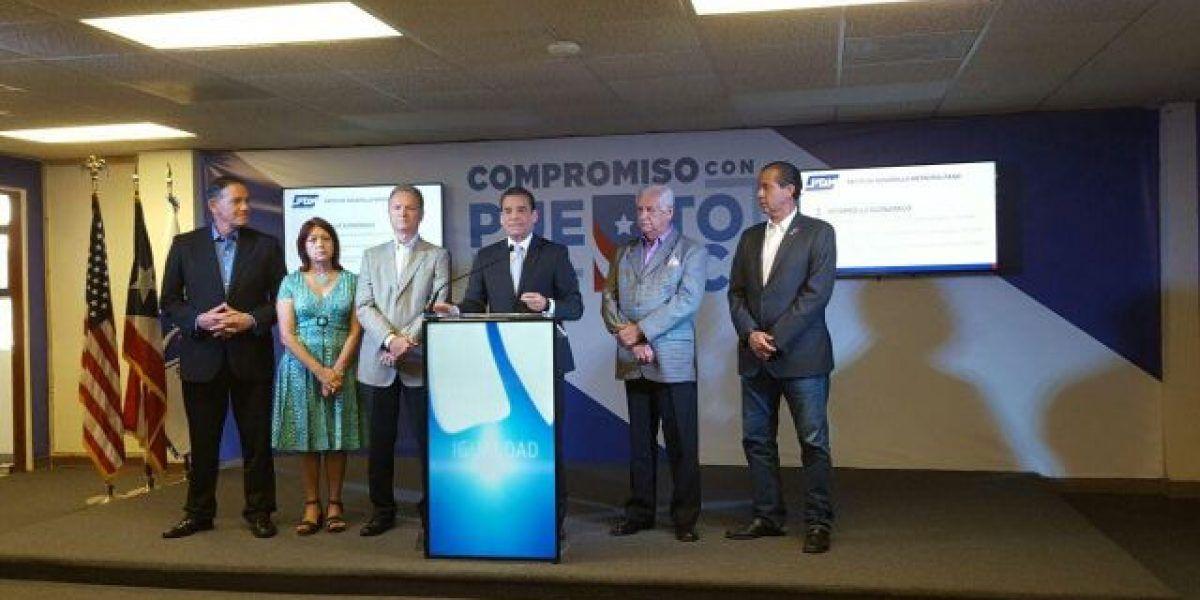 Díaz presenta propuesta para zona Metro junto a dos alcaldes