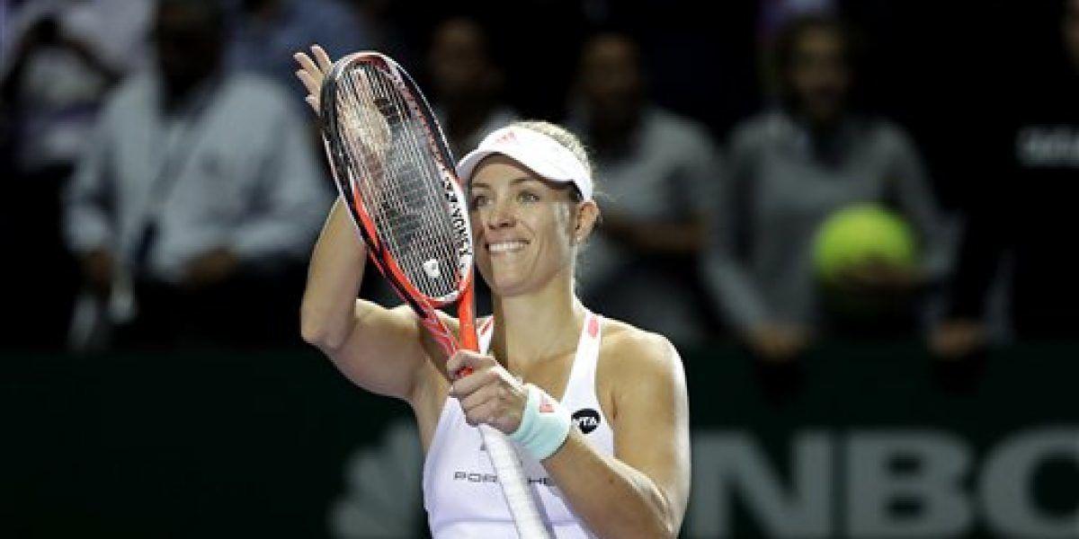 Adelantan Kerber y Cibulkova a semifinales de Copa WTA