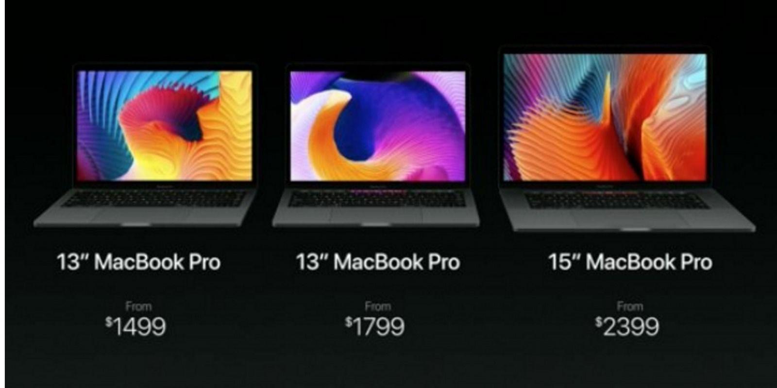 Apple presentó sus nuevas Macbook Pro. Imagen Por: Apple