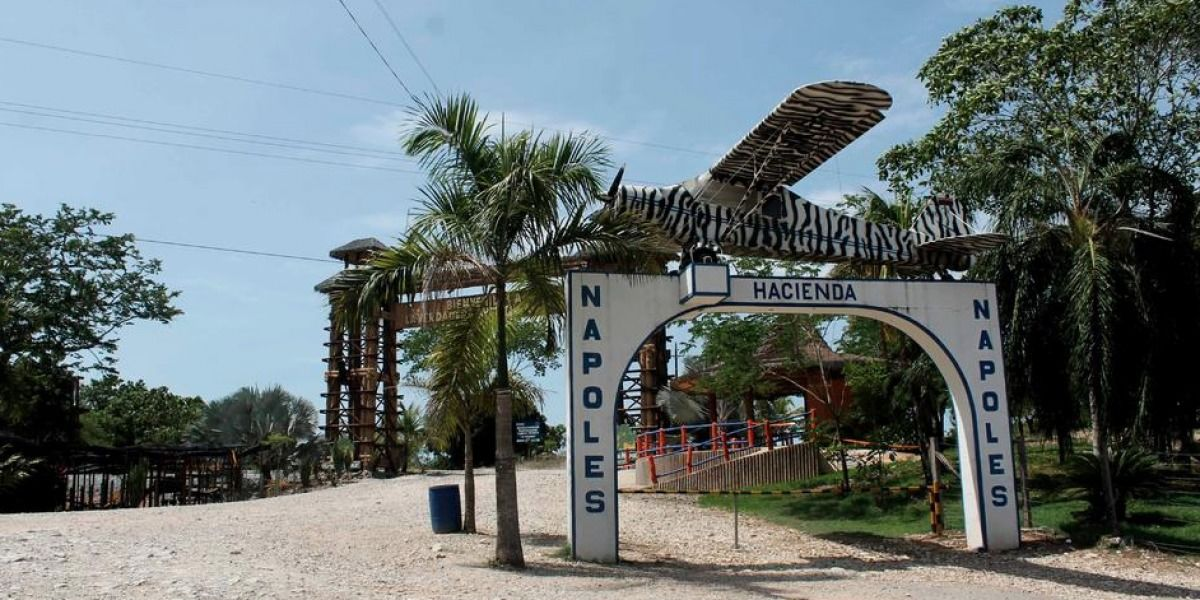 Así está hoy la Hacienda Nápoles de Pablo Escobar