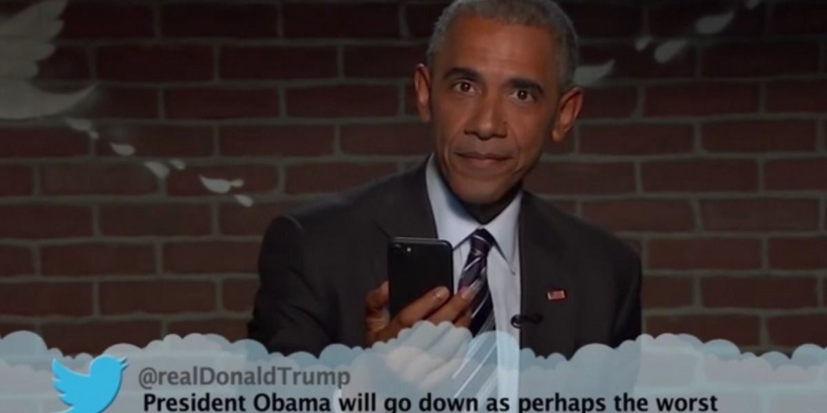 Así es como Barack Obama le respondió un tuit a Donald Trump