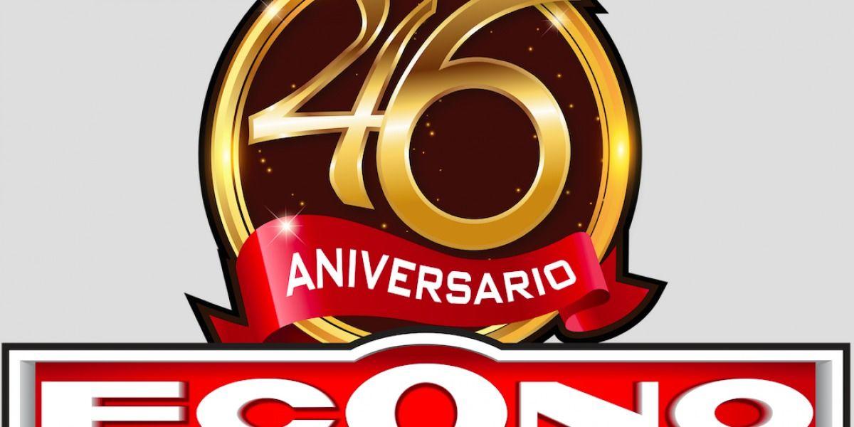 ECONO celebra su 46 aniversario con un concurso que cambia vidas