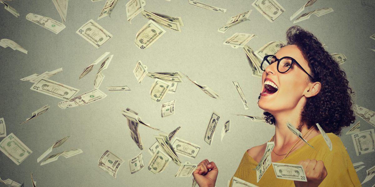 No creía en la lotería y ahora es millonaria