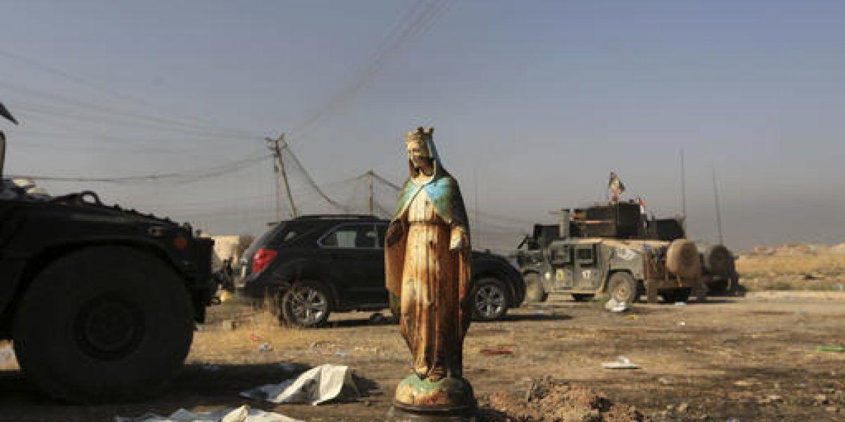 Estado Islámico usa a civiles como escudos en Irak