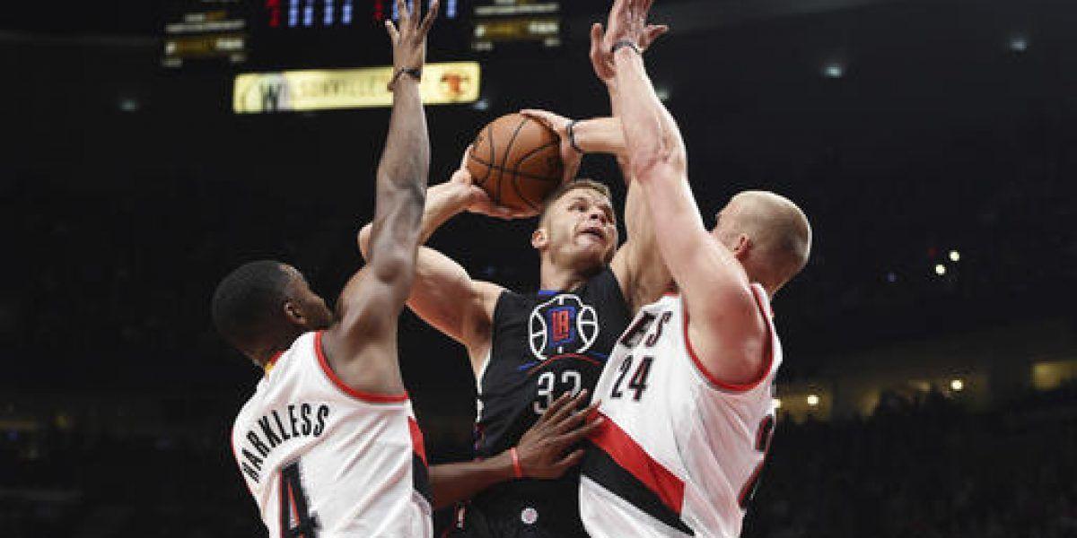Clippers abren temporada con victoria sobre Portland