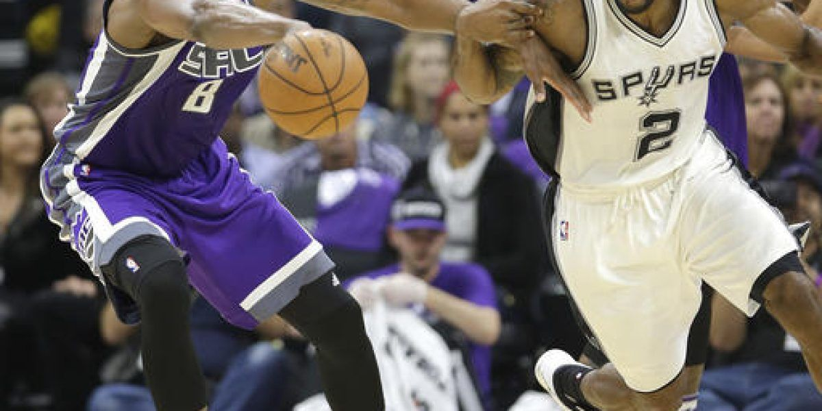 Spurs arruinan estreno del estadio de Kings