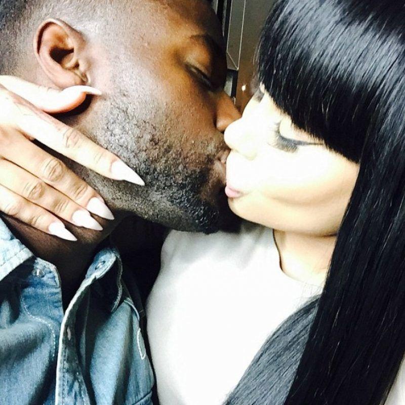 Filtran fotos de Blac Chyna besando a otro hombre. Imagen Por: Twitter