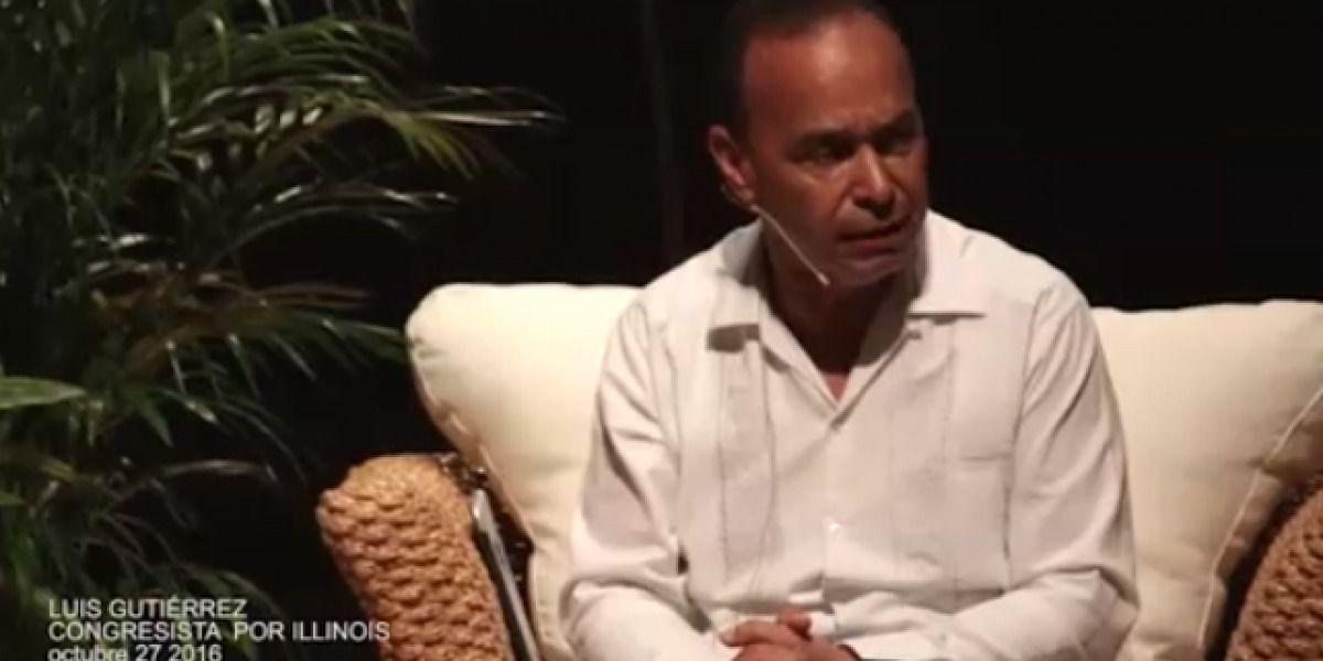 Congresista Luis Gutiérrez endosa a María de Lourdes