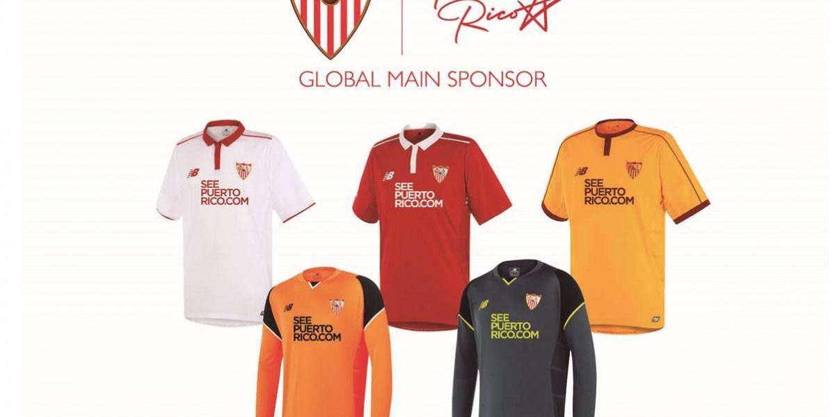 Turismo es el patrocinador principal del Sevilla FC