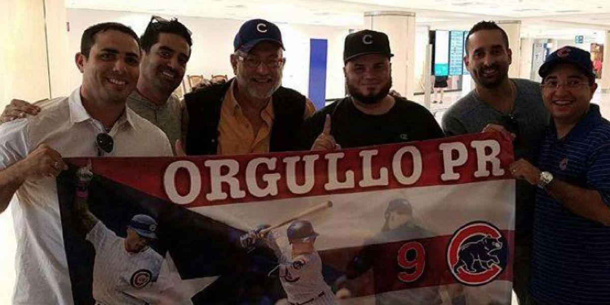 Jay Fonseca y Pabón Roca viajan a Chicago a ver Los Cubs