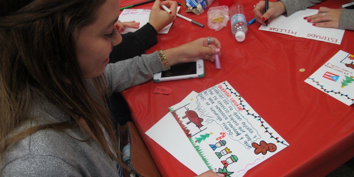 Crean postales para veteranos y militares fuera de Puerto Rico