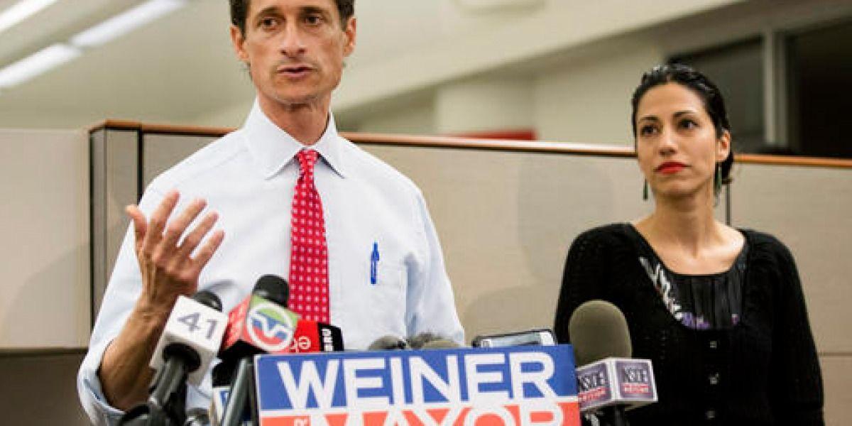 Caso de Anthony Weiner estremece campaña electoral de EEUU