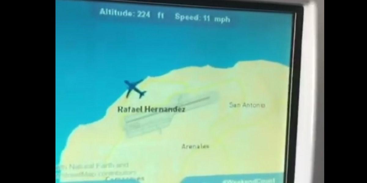 Avión de Jay Fonseca tuvo que echar gasolina en Aguadilla