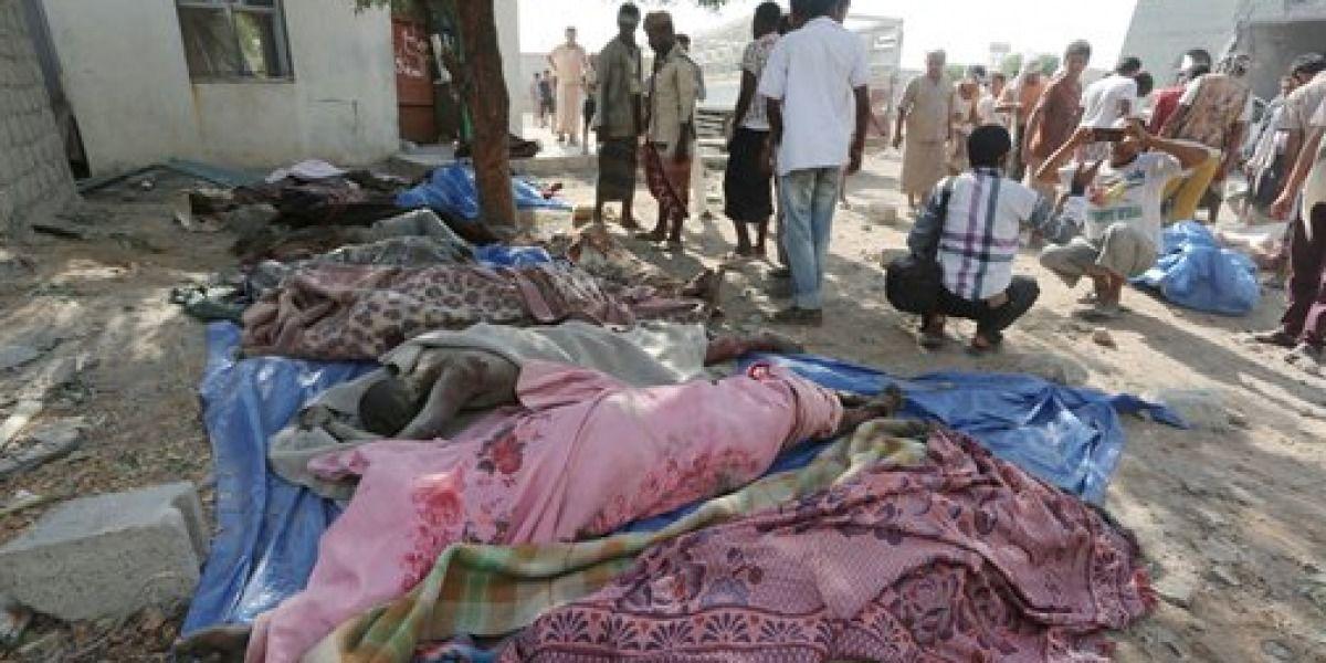 Yemen: 58 muertos en bombardeos de coalición saudí