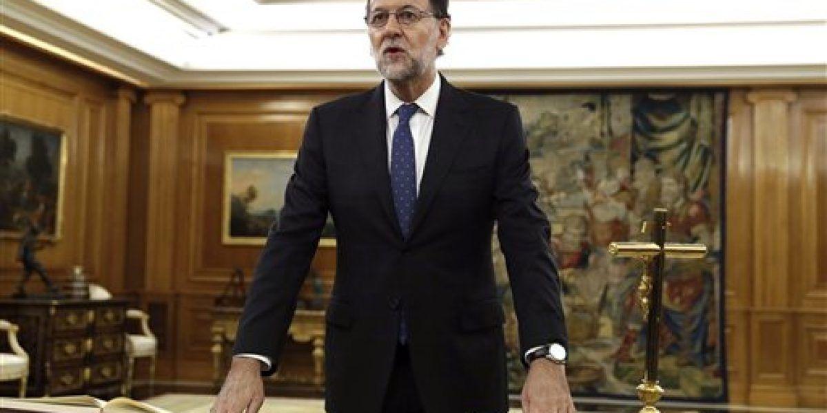Rajoy jura como presidente del gobierno español