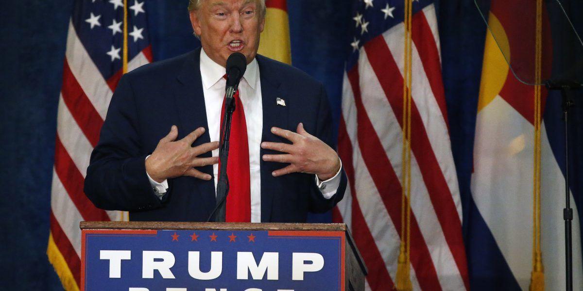 Donald Trump con más confianza