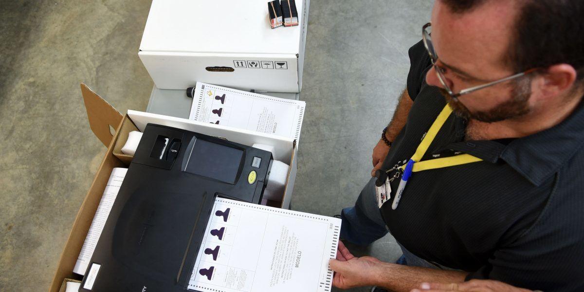 CEE espera estimados para escrutinio electrónico