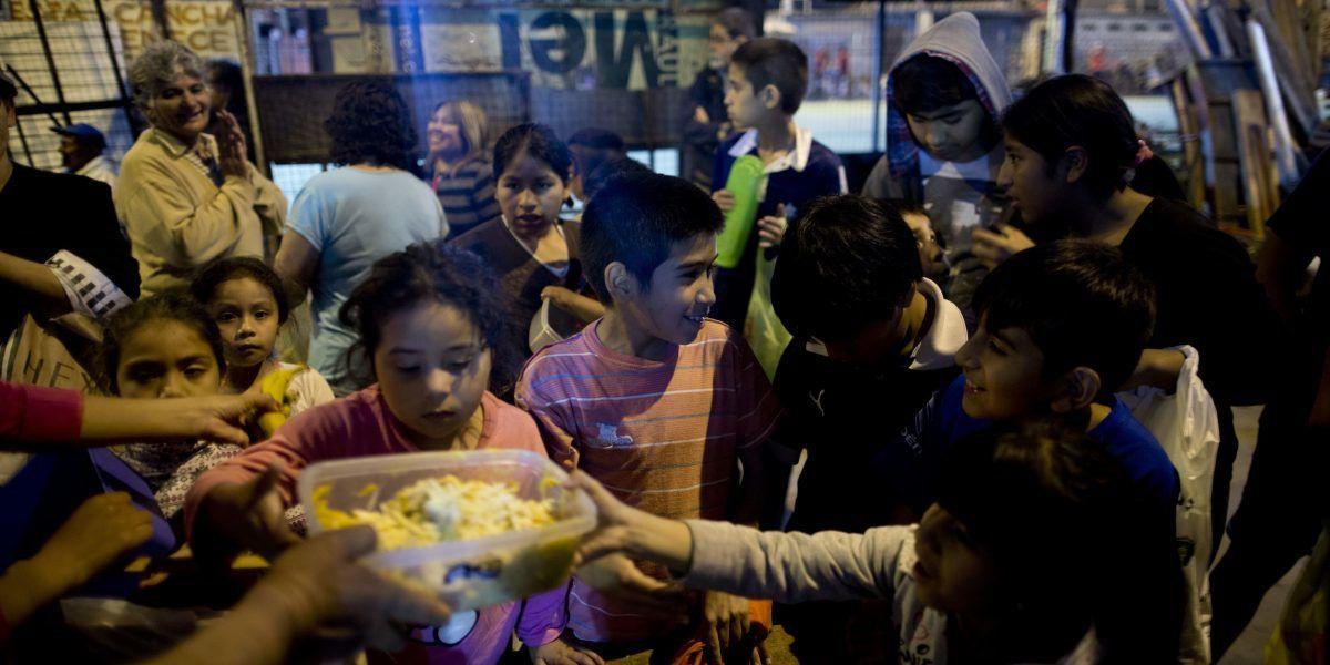 La pobreza argentina muestra su rostro
